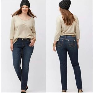 Seven7 x Melissa McCarthy Classic Straight Jeans